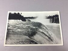 Vintage Postcard Photo American Falls From Prospect Point Unused Condition 1910