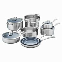 Zwilling Spirit Thermolon Stainless Steel Nonstick Cookware Set, 12 Piece  *NEW*