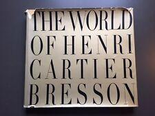 The World of Henri Cartier Bresson-hardcover/DJ