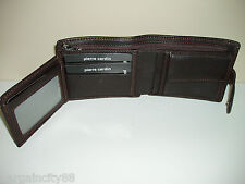 Pierre Cardin Italian Leather Billfold Mens Wallet (pc8874) Brown