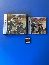 MX vs. ATV Untamed (Nintendo DS, 2007) Complete US/Canada