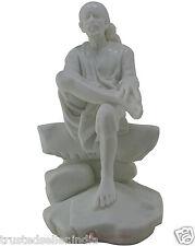 "18"" NEW BIG LARGE SHRI SHIRDI SAI BABA STATUE IDOL HANDMADE OF WHITE POLY MARBLE"