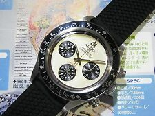 Alpha Hand Winding 30-min Chronograph Paul Newman Daytona Stainless Steel Watch