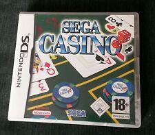 CASINO ☆ Sega CASINO # DS GAME ☆ Nintendo ☆ UK PAL ☆ Complete # 18