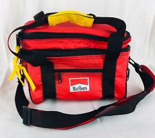 Vintage 1995 Marlboro Travel Cooler Lunch Bag Soft Sided Insulated Red Black