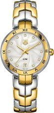 WAT1350.BB0957 | TAG HEUER LINK | BRAND NEW AUTHENTIC STEEL & GOLD WOMEN'S WATCH