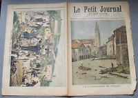 Le petit journal 1897 N°344 Catastrophe Voiron Moirans Crète soldats à la Canée