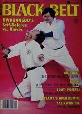 5/81 BLACK BELT MAGAZINE MAS OYAMA JOO BANG LEE HWARANG-DO KARATE MARTIAL ARTS
