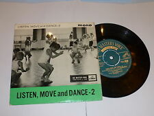 "LISTEN MOVE & DANCE - 2 - Rare Mono UK 7"" Vinyl Single"