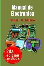 Manual de Electronica : Basica by Miguel D'Addario (2015, Paperback)