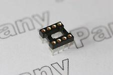 """10x IC Zócalo volvió Pin 8 forma 0.3"""" zócalos de ancho"""