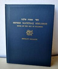 Sepher Maphteah Shelomoh Book of the Key of Solomon Grimoire Teitan LE1/358 RARE