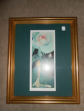 LIMITED EDITION SIGNED GILDEN BRANSKY PRINT-FAIRY IN THE GARDEN EXCELLENT CONDIT