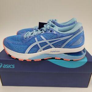 ASICS Women GEL-Nimbus 21 Running Shoes - Size US 10.5 - BLUE COAST 1012A156.400