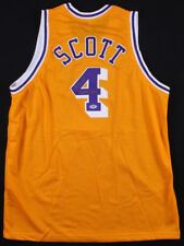 4c36bbe2c6a Byron Scott Signed Los Angeles Lakers Jersey Inscribed