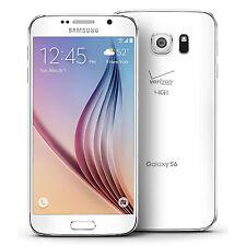 Samsung Galaxy S6 G920V 32GB Verizon CDMA LTE OctaCore Android 16MP Phone -White