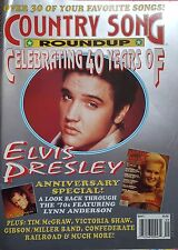 revue magazine COUNTRY SONG ROUNDUP - ELVIS PRESLEY