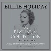 Billie Holiday Platinum Collection 3LP Gatefold White Vinyl Record 42 Tracks
