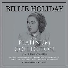 Billie Holiday Platinum Collection 3LP Gatefold White Vinyl Record 42 Tracks