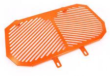 For KTM Duke 200 Duke 125 2012-2016 Radiator Grille Guard Cover Protector Orange