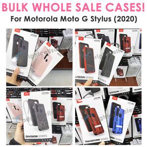 WHOLESALE LOT 5/10/15 - Zizo Mixed Styles Phone Case for Moto G Stylus (2020)