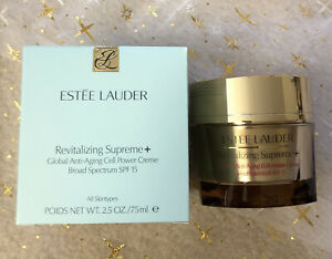 ESTEE LAUDER Revitalizing Supreme+Global Anti-Aging Cell Power Crème SPF15  75mL