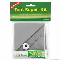 Coghlan's Tent Repair Kit for Canvas w/ Cement, Waterproof Patches, Nylon Screen