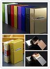 Boîte Etui Cigarette Case Coque Porte Pour 20 Cigarettes Aluminium Alliage Métal