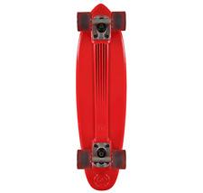 "Gold Coast Whizz Red 6.5"" 24.0"" Complete Cruiser Skateboard"