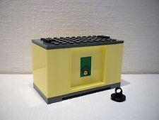 LEGO® Eisenbahn Container hellgelb für 3677, 7898, 7938, 7939 - City - NEU 2