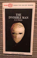 The Invisible Man by H. G. Wells - Paperback Book