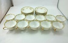 VINTAGE NORITAKE CHINA LOT Fine Cups and Saucers Set 1930 Dinnerware Kitchenware