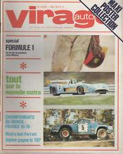 VIRAGE AUTO 1973 5 RALLYE PORTUGAL 6H VALLELUNGA 1000KM DIJON DOSSIER F1 1973