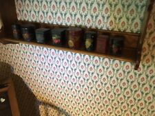 8 Small hand painted tins