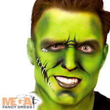 Green Make Up Palette Fancy Dress Halloween Scary Monster Costume Face Paint