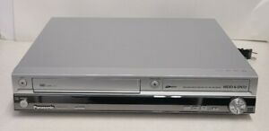PANASONIC DMR EH75V VHS DVD DVR 80GB HDD VCR Player RECORDER  (No Remote)