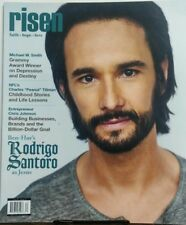 Risen Vol 16 Issue 2 Ben Hur's Rodrigo Santoro As Jesus Faith FREE SHIPPING sb
