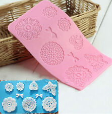 l! Butterfly Lace Mat Fondant Sugar Craft Mould Cake Decorating Mold Tool