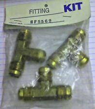 "Teleflex HF5562 Male NPT 1/2"" Tee Fitting Brass"