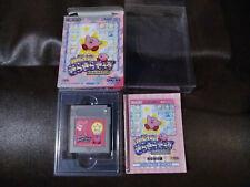 Gameboy Kirby Star Stacker Kirakira Kids JAPAN CIB US SELLER + BONUS PROTECTOR