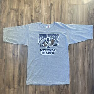 90s Penn State Nittany Lions University NCAA Logo t-shirt  Extra Large