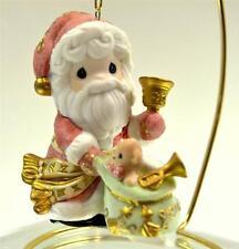 Precious Moments Ornament Santa w/ Bell And Sack 101068 Bx FreeusaShp