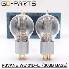 New Pair PSVANE WE101D-L Vacuum Tube 300B Base 1:1 Replica Western Electric 101D