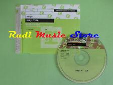 CD Singolo ENYA MAY IT BE PROMO 2001 UK PR02952 REPRISE RECORDS (S16) no mc lp