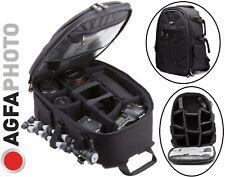 Agfaphoto Large Backpack Camera Case For Panasonic Lumix DMC-FZ1000 DMC-FZ1000K