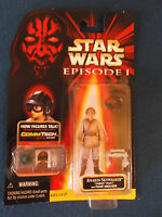 Star Wars collectable figure. Anakin Skywalker with comchip. In original box