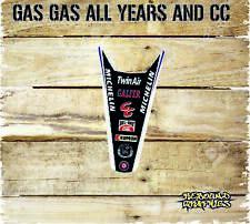 Gas gas ec Motocross Guardabarros Trasero Pegatina Gráficos todos los años gas gas de gráficos