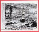 1945 Remains of Japanese Mitsubishi Aircraft Plant Nagoya Japan Orig. News Photo