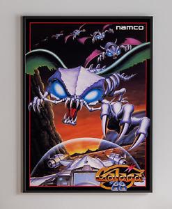 Galaga '88 Arcade Video Game Retro Print Poster 18x24 inches
