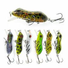 "2.5"" Crankbait Fishing Lure 10g Realistic Hard Frog Fish Bait Fishing Tackle"